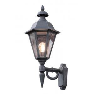 Wandlamp Pallas opwaarts 60.5cm - Matzwart