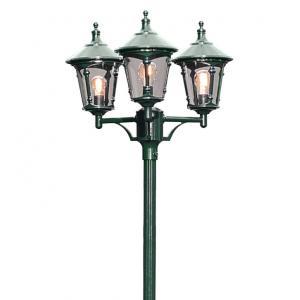 Staand verlichtingsarmatuur Virgo met 3 lampen - Groen