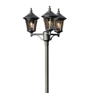Staand verlichtingsarmatuur Virgo met 3 lampen - Matzwart