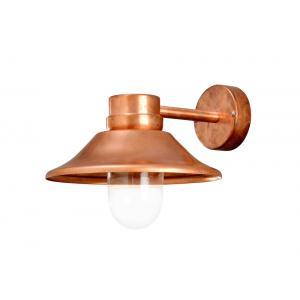 Wandlamp Vega koper