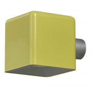 Wandlamp Amalfi kubus - Geel