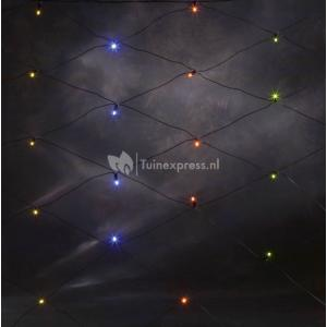 LED lichtnet feestverlichting multicolor