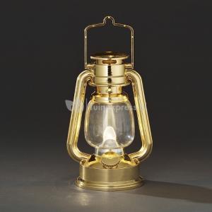 LED stormlantaarn goud
