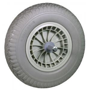 Kruiwagenwiel anti-lek met naaldlager - Aslengte 19 cm