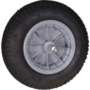 Kruiwagenwiel met kogellagers - Aslengte 19 cm