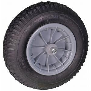 Kruiwagenwiel met kogellagers - Aslengte 13 cm
