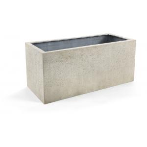Grigio plantenbak Box XS antiek wit betonlook