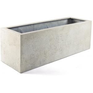 Grigio plantenbak Box XXL antiek wit betonlook
