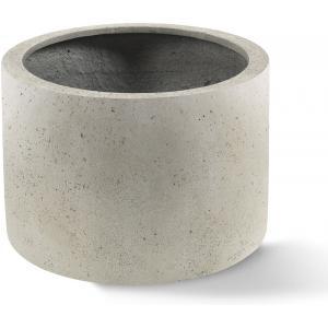 Grigio plantenbak Cylinder L antiek wit betonlook