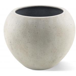 Grigio plantenbak Global M antiek wit betonlook