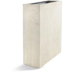 Grigio plantenbak High Box S antiek wit betonlook