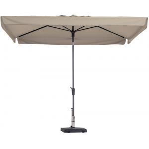 Madison parasol Delos Luxe rechthoek 300x200 cm ecru