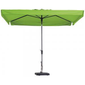 Madison parasol Delos Luxe rechthoek 300x200 cm lime