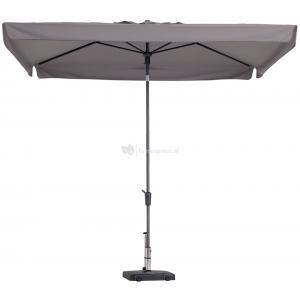 Madison parasol Delos Luxe rechthoek 300x200 cm taupe