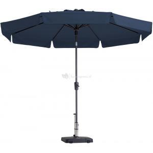 Madison parasol Flores rond 300 cm blauw
