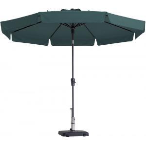 Madison parasol Flores rond 300 cm groen