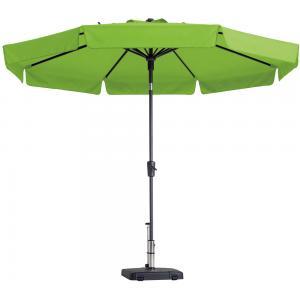 Madison parasol Flores rond 300 cm lime