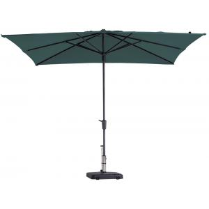 Madison parasol Syros Luxe vierkant 280 cm groen