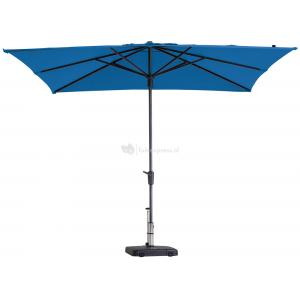 Madison parasol Syros Luxe vierkant 280 cm turquoise
