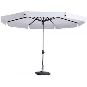 Madison parasol Syros rond 350 cm gebroken wit
