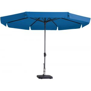 Madison parasol Syros rond 350 cm turquoise