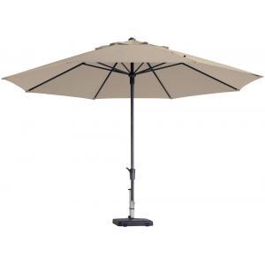 Madison parasol Timor Luxe rond 400 cm ecru
