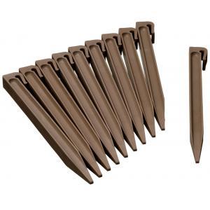 Borderrand pennen taupe voor borderrand 15 cm hoog