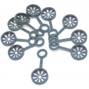 Ring voor het samenvoegen van 3 plantenstokken - 11 mm