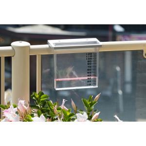 Regenmeter voor balkonreling