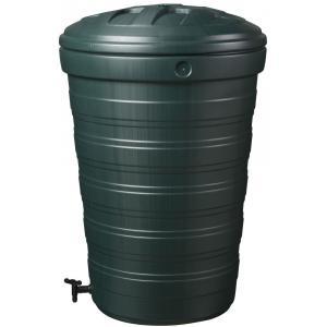 Conische regenton 200 liter groen