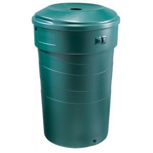Stevige kunststof regenton 320 liter groen