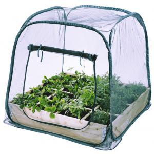 Beschermhoes voor vierkantemetertuin anti-insectennet