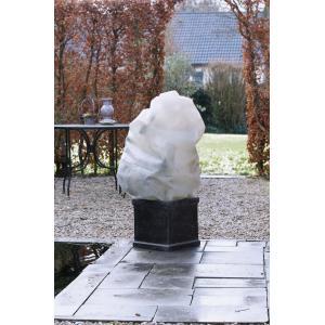 Winterafdekhoes met koord 50 g/m2 beige - 50 x 100 cm