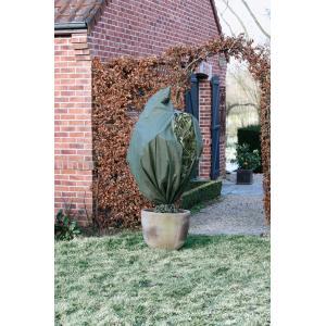 Winterafdekhoes met rits 70 g/m2 groen - 150 x 200 cm