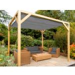 Complete Nesling pergola Stand Alone antraciet