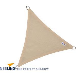 Coolfit schaduwdoek driehoek gebroken wit - 3.6 x 3.6 x 3.6 meter