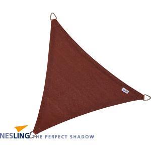 Coolfit schaduwdoek driehoek terracotta - 3.6 x 3.6 x 3.6 meter