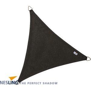 Coolfit schaduwdoek driehoek zwart - 3.6 x 3.6 x 3.6 meter