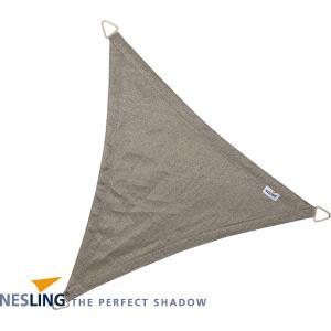Coolfit schaduwdoek driehoek grijs - 5.0 x 5.0 x 5.0 meter