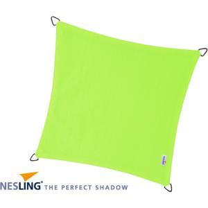 Coolfit schaduwdoek vierkant lime groen - 5.0 x 5.0 meter