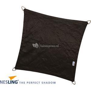 Coolfit schaduwdoek vierkant zwart - 3.6 x 3.6 meter