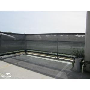 Nesling balkondoek 80x500 cm antraciet