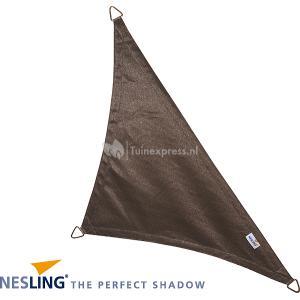 Coolfit schaduwdoek driehoek 90 graden antraciet - 5.0 x 5.0 x 7.1 meter