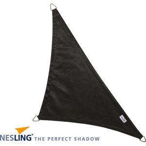 Coolfit schaduwdoek driehoek 90 graden zwart - 5.0 x 5.0 x 7.1 meter
