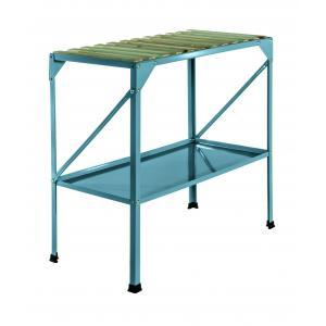 Oppottafel 77 x 40 x 77 cm blauw