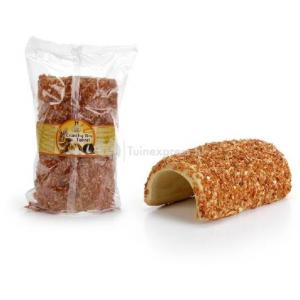 Eetbare broodtunnel met wortel voor knaagdieren - 350 Gram