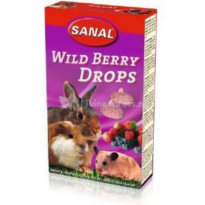 Sanal bosvruchten druppels voor knaagdieren