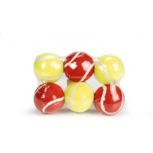 Tennisbal 6 pack rood en geel