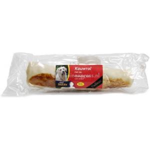 DeliSnacks kauwrol met laagjes kip hondensnack
