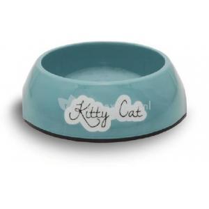 Melamine eetbak kitty cat blauw